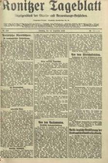Konitzer Tageblatt.Amtliches Publikations=Organ, nr292