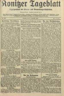Konitzer Tageblatt.Amtliches Publikations=Organ, nr298