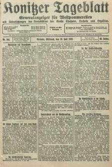 Konitzer Tageblatt.Amtliches Publikations=Organ, nr164