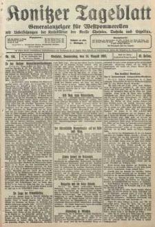 Konitzer Tageblatt.Amtliches Publikations=Organ, nr194