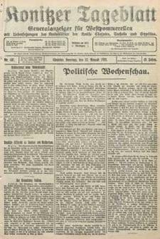 Konitzer Tageblatt.Amtliches Publikations=Organ, nr197