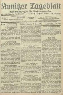 Konitzer Tageblatt.Amtliches Publikations=Organ, nr237