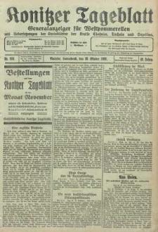 Konitzer Tageblatt.Amtliches Publikations=Organ, nr250