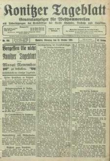 Konitzer Tageblatt.Amtliches Publikations=Organ, nr252