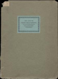 Pierre Simon Fournier und die Druckkunst des XVIII. Jahrhunderts in Frankreich