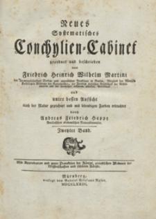 Martini Neues Systematisches Conchylien-Cabinet