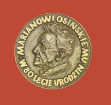 Medal wybity z okazji 80-lecia urodzin Mariana Osińskiego