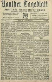 Konitzer Tageblatt.Amtliches Publikations=Organ, nr262