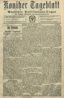 Konitzer Tageblatt.Amtliches Publikations=Organ, nr277