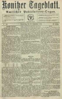 Konitzer Tageblatt.Amtliches Publikations=Organ, nr229