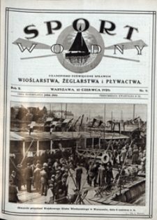 Sport Wodny, 1926, nr 8