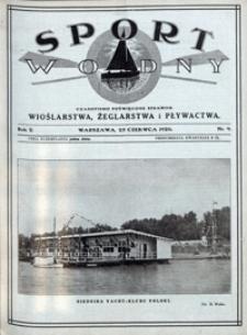 Sport Wodny, 1926, nr 9