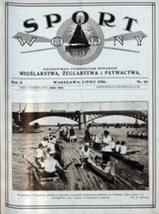 Sport Wodny, 1926, nr 10