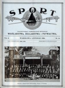 Sport Wodny, 1926, nr 16