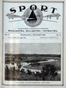 Sport Wodny, 1926, nr 17