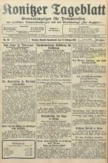 Konitzer Tageblatt.Amtliches Publikations=Organ, nr34