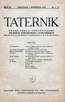 Taternik, 1925, nr 1-2
