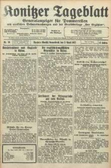 Konitzer Tageblatt.Amtliches Publikations=Organ, nr76