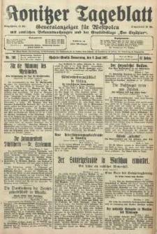 Konitzer Tageblatt.Amtliches Publikations=Organ, nr130
