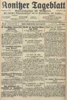Konitzer Tageblatt.Amtliches Publikations=Organ, nr142