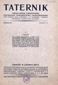 Taternik, 1930, nr 2