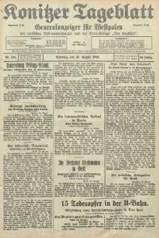 Konitzer Tageblatt.Amtliches Publikations=Organ, nr196