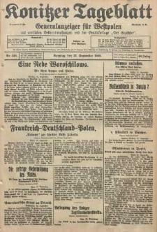Konitzer Tageblatt.Amtliches Publikations=Organ, nr220