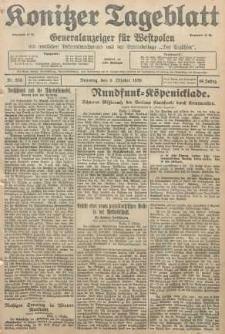 Konitzer Tageblatt.Amtliches Publikations=Organ, nr233