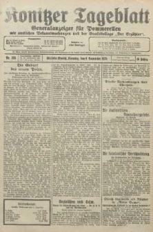 Konitzer Tageblatt.Amtliches Publikations=Organ, nr258