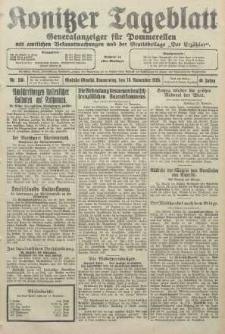Konitzer Tageblatt.Amtliches Publikations=Organ, nr266