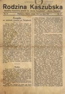 Rodzina Kaszubska, nr.22,1937