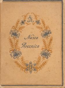Nasze rocznice : wybór poezyj i prozy na obchody narodowe