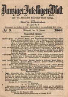 Danziger Intelligenz Blatt für den Königlichen Regierungs-Bezirk Danzig, 1866.08.09 nr 184