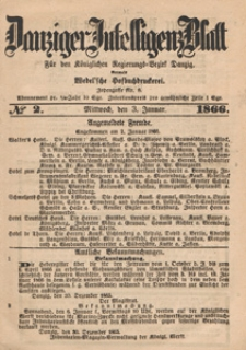 Danziger Intelligenz Blatt für den Königlichen Regierungs-Bezirk Danzig, 1867.12.11 nr 290