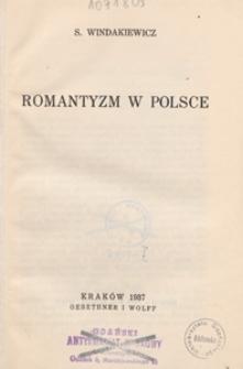 Romantyzm w Polsce