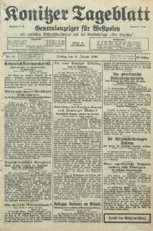 Konitzer Tageblatt.Amtliches Publikations=Organ, nr10