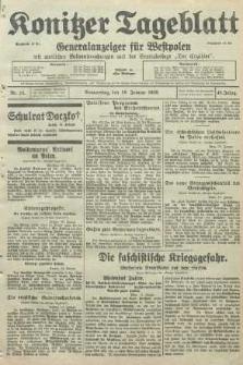 Konitzer Tageblatt.Amtliches Publikations=Organ, nr15