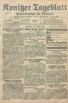 Konitzer Tageblatt.Amtliches Publikations=Organ, nr64