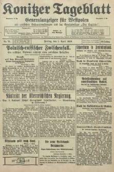 Konitzer Tageblatt.Amtliches Publikations=Organ, nr79