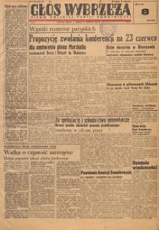 Głos Wybrzeża : pismo Polskiej Partii Robotniczej, 1947.07.22 nr 34