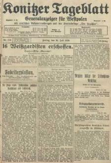 Konitzer Tageblatt.Amtliches Publikations=Organ, nr170