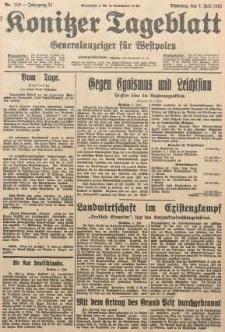 Konitzer Tageblatt.Amtliches Publikations=Organ, nr153