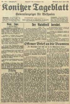 Konitzer Tageblatt.Amtliches Publikations=Organ, nr154
