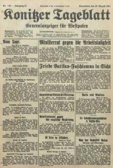 Konitzer Tageblatt.Amtliches Publikations=Organ, nr198