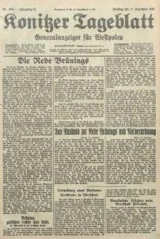 Konitzer Tageblatt.Amtliches Publikations=Organ, nr286