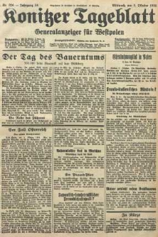 Konitzer Tageblatt.Amtliches Publikations=Organ, nr226