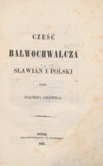 Cześć bałwochwalcza Sławian i Polski