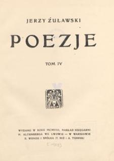 Poezje. T. 4