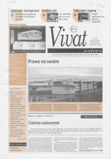 Vivat Academia, 2001, nr 2 (35)