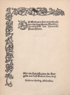 Des Giovanni Boccaccio Buch: von den berühmten Frauen